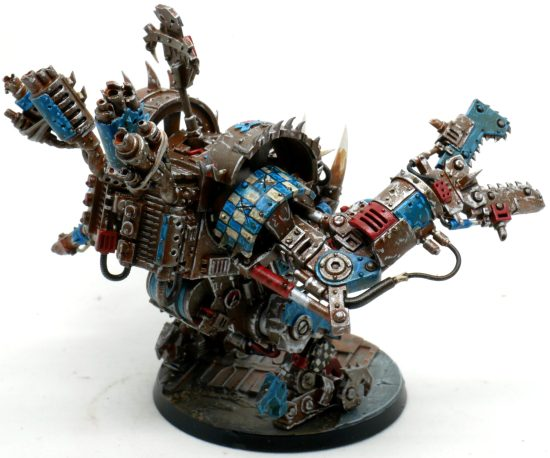 Death Skulls Deff Dread From the Left