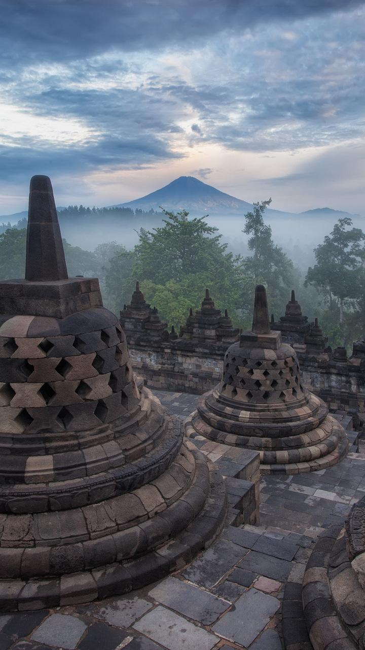 Borobudur Hd Wallpaper : borobudur, wallpaper, Borobudur, Wallpapers, Broken, Panda