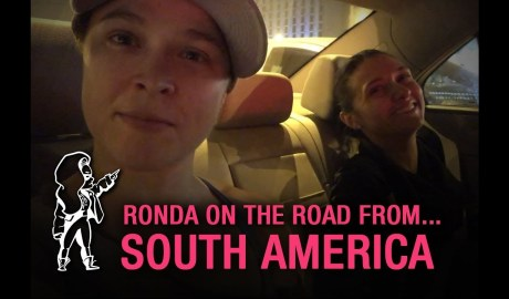 Ronda on the Road… from WWE's South American Tour