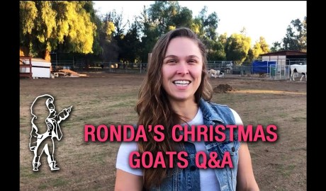 Ronda Rousey's Christmas Goats Q&A