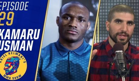 Kamaru Usman: I genuinely don't like Colby Covington   Ariel Helwani