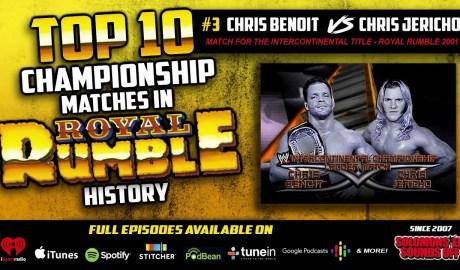 Top 10 Royal Rumble Title Matches (#3 Chris Jericho vs. Chris Benoit)
