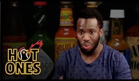 Prince Amukamara Talks NFL Salaries & Pre-Game Sex While Eating Spicy Wings | Hot Ones