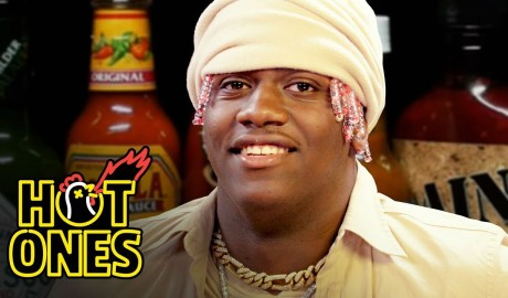 Lil Yachty Has His First Experience With Spicy Wings