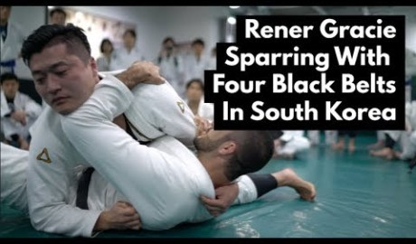 Rener Gracie vs. 4 Korean Black Belts
