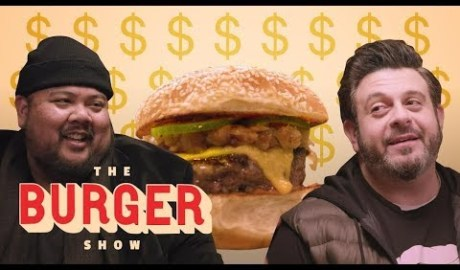 The Ultimate Expensive Burger Tasting w/ Adam Richman | The Burger Show