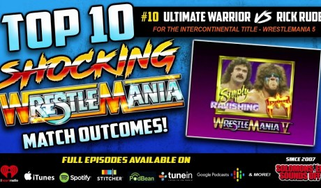 Shocking WrestleMania Match Outcomes (#10 Rick Rude Pins The Ultimate Warrior)