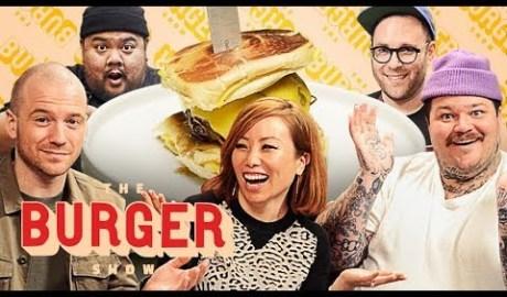Sean Evans, Matty Matheson, and Miss Info Judge a Stunt Burger Showdown   The Burger Show