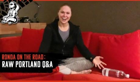 Ronda on the Road | WWE RAW Portland Q&A