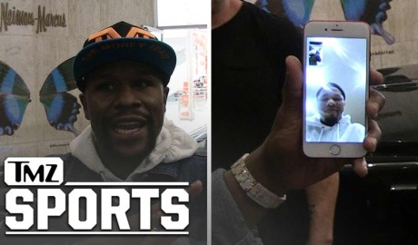 Floyd Mayweather to Ryan Garcia, 'Tank Davis Will F*ck You Up' | TMZ Sports