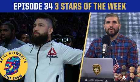 Bryan Barberena walks out to 'Baby Shark' | 3 Stars of the Week | Ariel Helwani's MMA Show