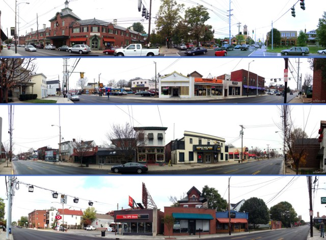 Panoramas of Bardstown Road. (Branden Klayko / Broken Sidewalk)