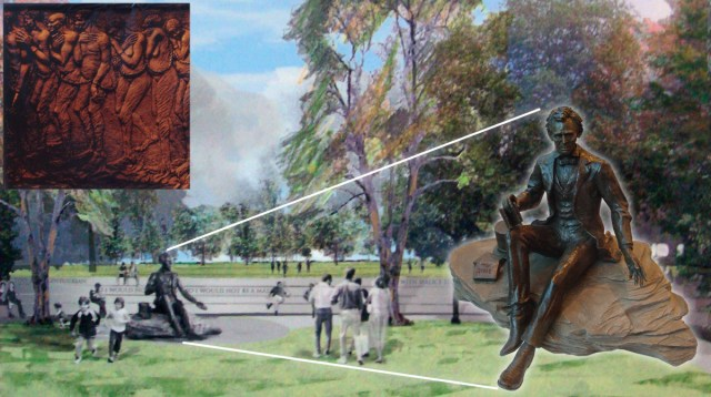 Abraham Lincoln Memorial (Rendering Courtesy Waterfront Development Corporation)