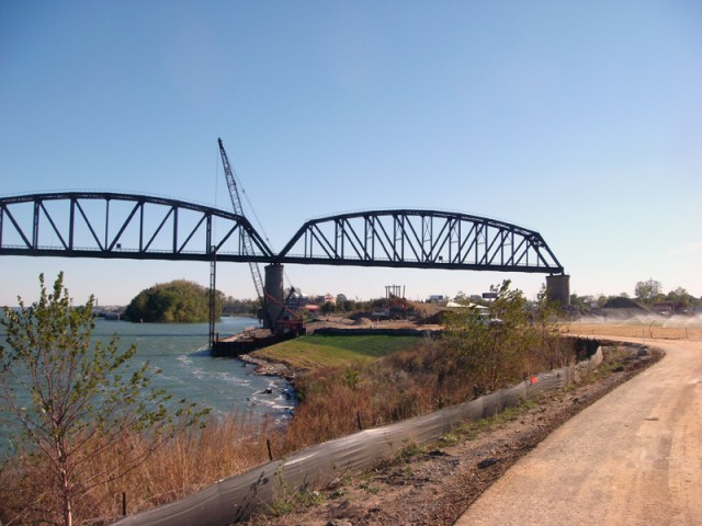 Waterfront Park Construction