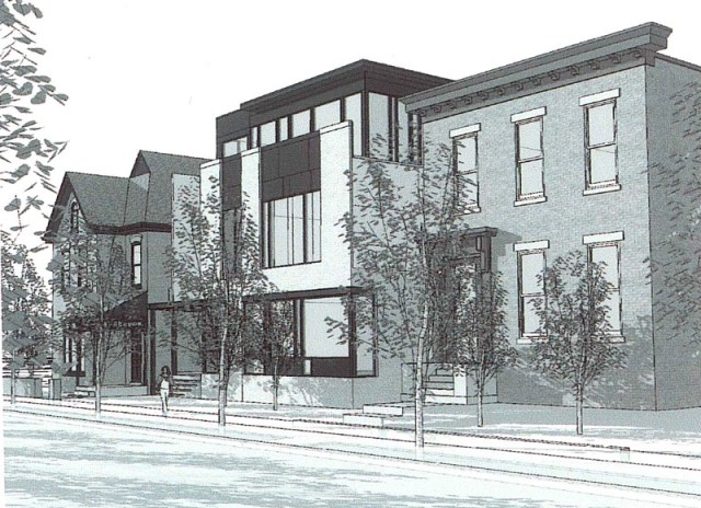 Rendering of Franklin Flats (Rendering by arcumbra)