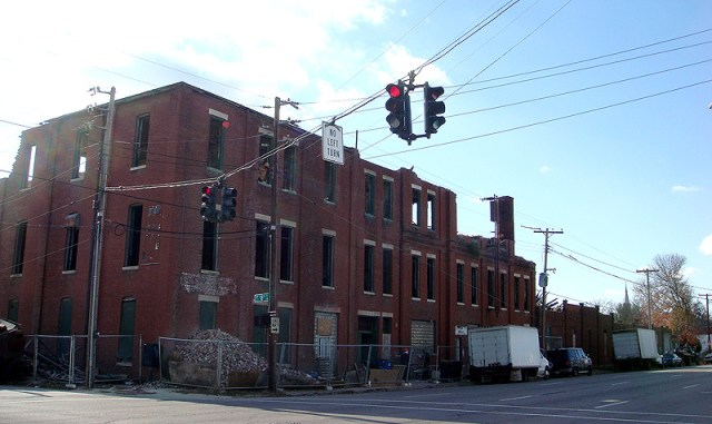 West Main Street Warehouse Demolition