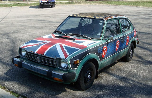 Rolling Stones Art Car