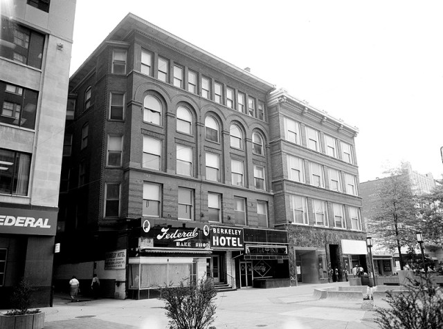 Old Berkeley Hotel on Fourth Street (photo by Library of Congress)
