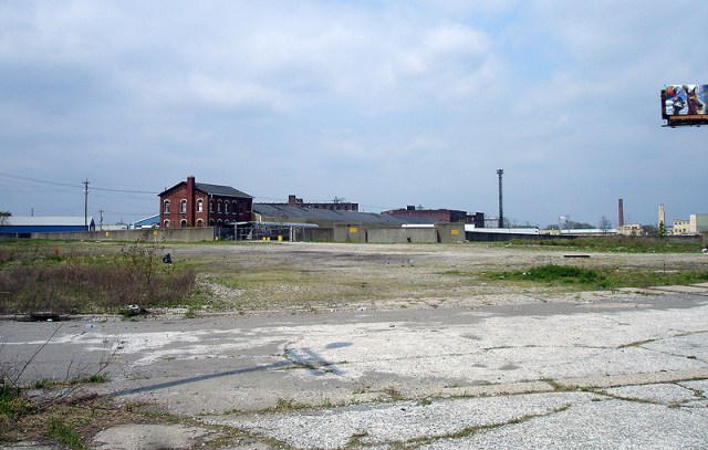 Empty land in Shippingport