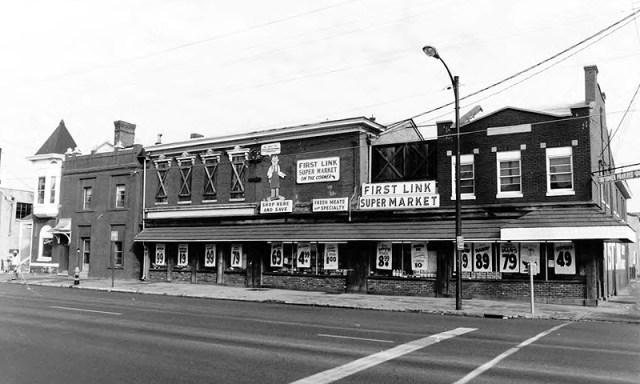 East Market Street site circa 1980 (via NRHP / NPS)