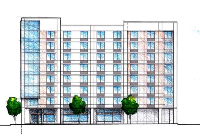Planned Glassworks District Hotel (Courtesy City Properties Group)