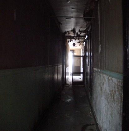 Inside the upper floors at the Caperton Block