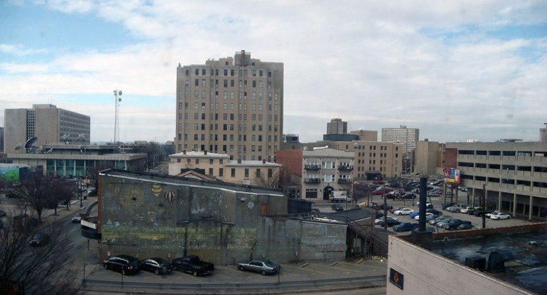 View west from the Caperton Block