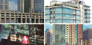 Downtown Office Space Vacancy Low (Rendering Credits Below)