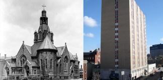 Trinity Methodist Church & Barrington Place Apartments