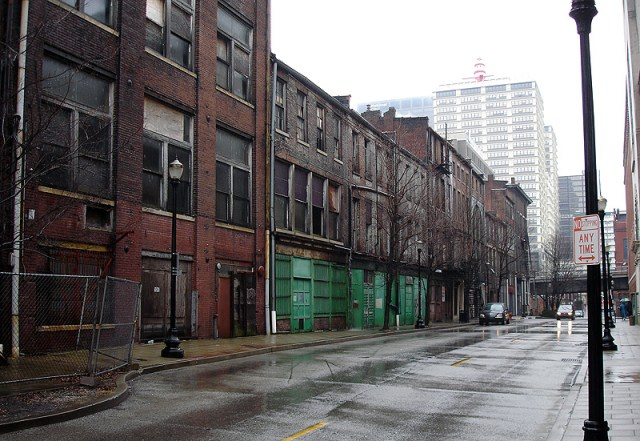 Iron Quarter buildings from Washington Street (BS File Photo)