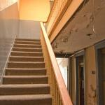Stairs in entry hall (Courtesy Eric Schumacher)