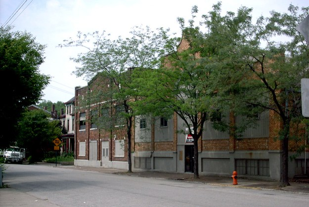Warehouses on Garvin Place before the fire (BS File Photo)