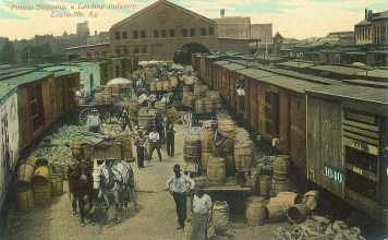 Slugger Field before baseball (BS File Postcard)