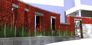 Rendering of Baxter Avenue renovation (Courtesy Forza Architecture)
