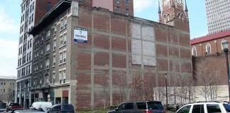 Molee Building Could Be Redeveloped. (Branden Klayko / Broken Sidewalk)