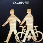 Pedestrian symbol from Salzburg