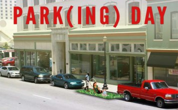 Park(ing) Day in Louisville