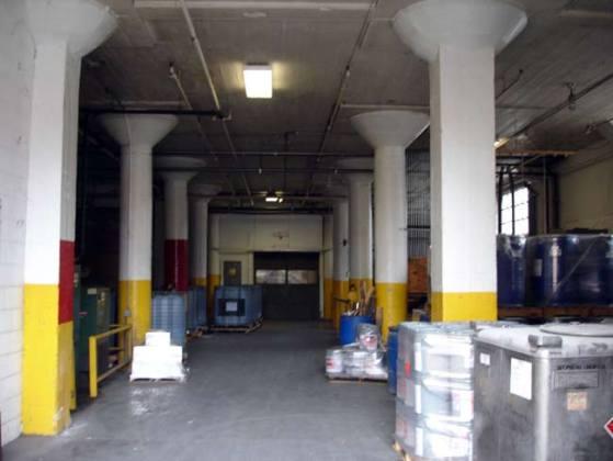 Inside the Progress Paint building (BS File Photo)