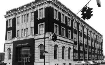 Cosmopolitan building on Third Street (National Register)