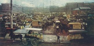 The Haymarket in 1910 (BS File Postcard)