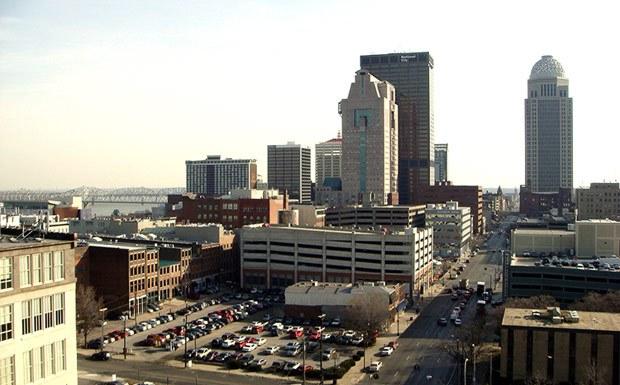 Downtown Louisville. (Branden Klayko)