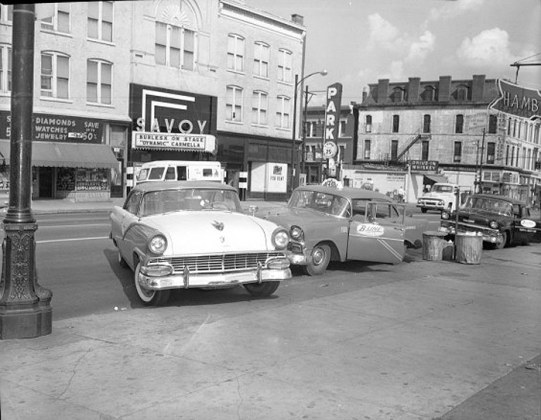 The Savoy Theater, likely in the 1950s. (Courtesy UL Photo Archives)