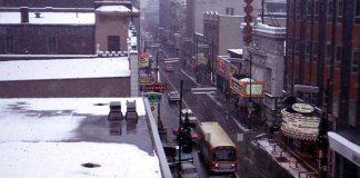 Fourth Street route circa 1968. (Courtesy TARC)