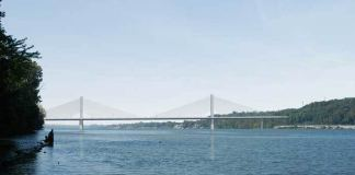 The planned East End Bridge. (Courtesy Bridges Authority)
