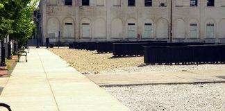 "The ""plaza"" at Jefferson Development Group's Main Street parking lot. (Branden Klayko)"