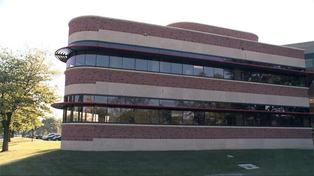 The new wing at the College of Business. (Courtesy UL)