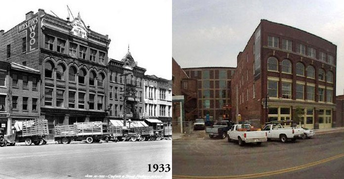 (Figure 1.) 309 E. Market St., Louisville, KY. (Courtesy UL Photographic Archives)