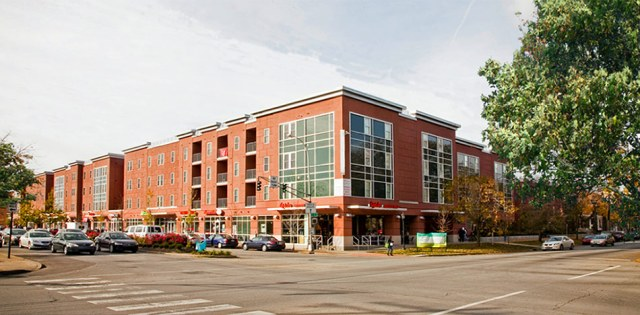 A mixed-use development including student apartments near the University of Louisville. (Courtesy An Old Way Forward)