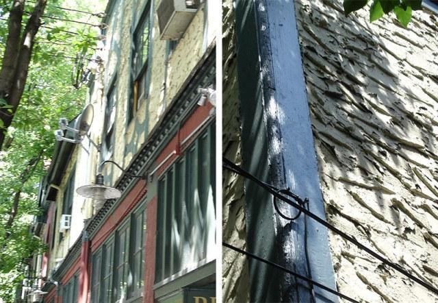 Architectural details of the Arden Building. (Branden Klayko / Broken Sidewalk)