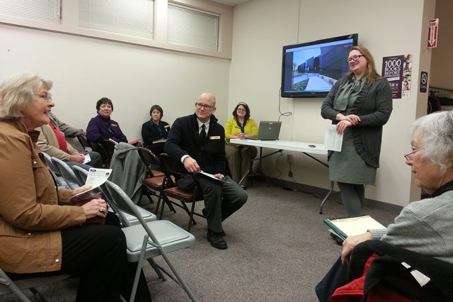 LFPL held a community meeting to discuss the planned South-Central Regional Library. (Elijah McKenzie / Broken Sidewalk)